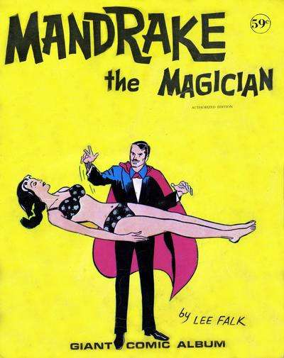 Giant Comic Album: Mandrake the Magician comic books