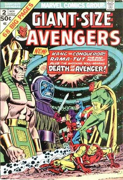 Giant-Size Avengers #2 comic books - cover scans photos Giant-Size Avengers #2 comic books - covers, picture gallery