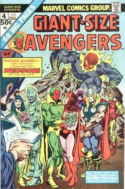 Giant-Size Avengers #4 Comic Books - Covers, Scans, Photos  in Giant-Size Avengers Comic Books - Covers, Scans, Gallery
