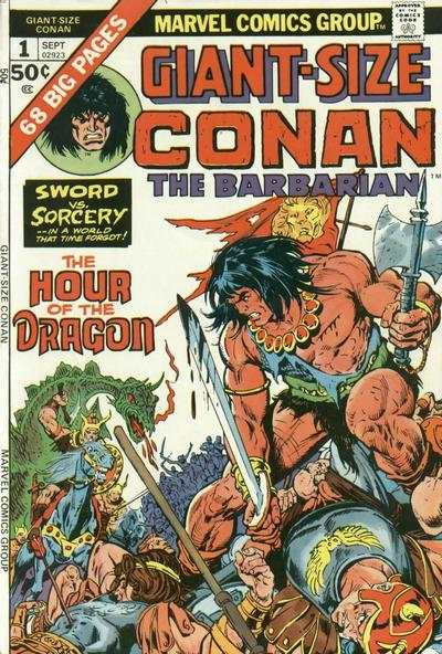 Giant-Size Conan #1 comic books - cover scans photos Giant-Size Conan #1 comic books - covers, picture gallery