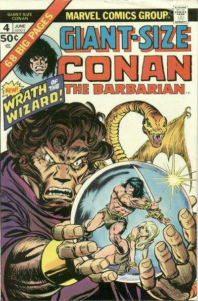 Giant-Size Conan #4 Comic Books - Covers, Scans, Photos  in Giant-Size Conan Comic Books - Covers, Scans, Gallery