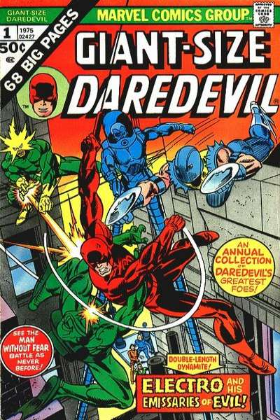 Giant-Size Daredevil Comic Books. Giant-Size Daredevil Comics.