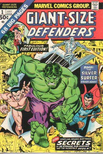 Giant-Size Defenders comic books