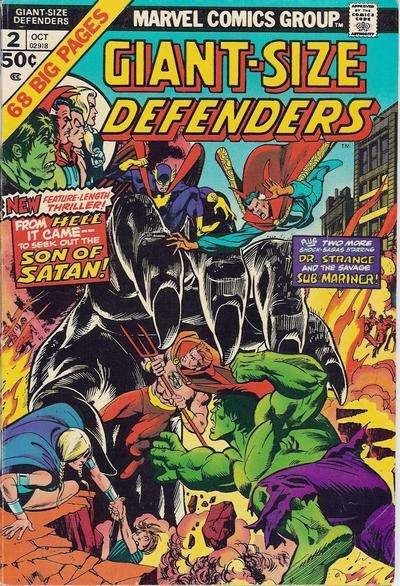 Giant-Size Defenders #2 comic books for sale