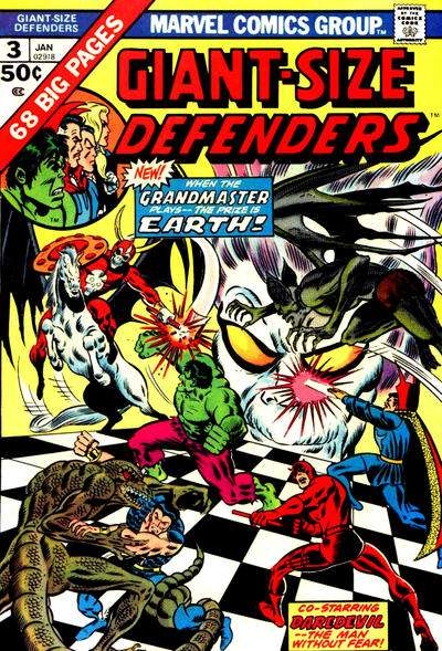 Giant-Size Defenders #3 comic books for sale