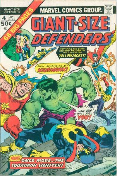 Giant-Size Defenders #4 comic books for sale