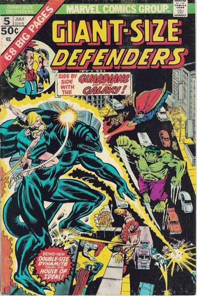 Giant-Size Defenders #5 comic books for sale