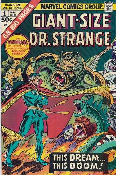 Giant-Size Doctor Strange #1 comic books - cover scans photos Giant-Size Doctor Strange #1 comic books - covers, picture gallery