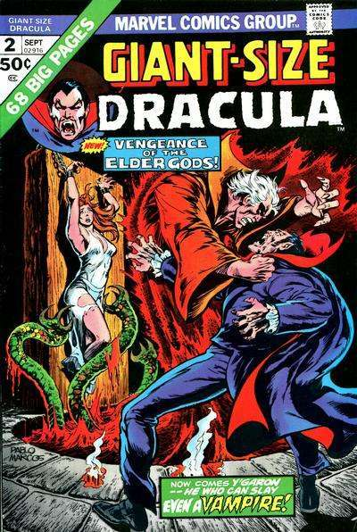 Giant-Size Dracula Comic Books. Giant-Size Dracula Comics.