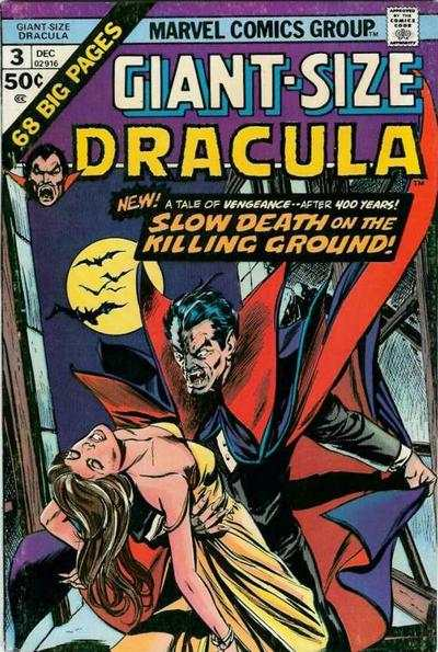 Giant-Size Dracula #3 Comic Books - Covers, Scans, Photos  in Giant-Size Dracula Comic Books - Covers, Scans, Gallery
