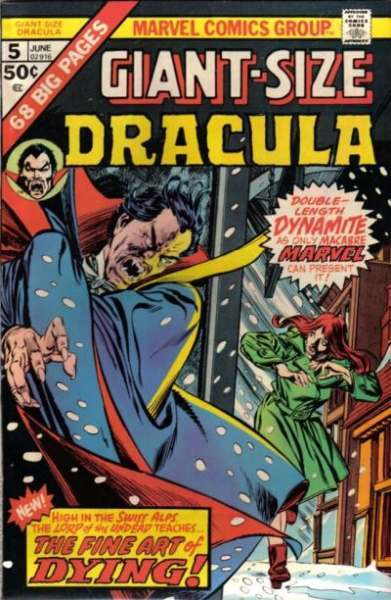 Giant-Size Dracula #5 Comic Books - Covers, Scans, Photos  in Giant-Size Dracula Comic Books - Covers, Scans, Gallery