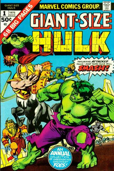 Giant-Size Hulk #1 comic books for sale