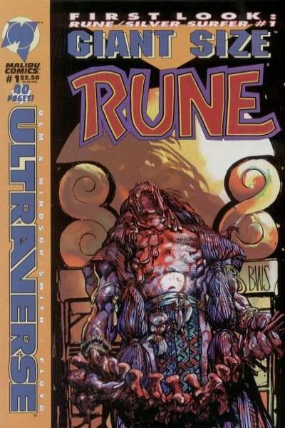 Giant-Size Rune Comic Books. Giant-Size Rune Comics.