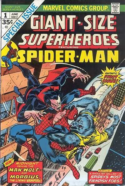 Giant-Size Super-Heroes Featuring Spider-Man #1 comic books - cover scans photos Giant-Size Super-Heroes Featuring Spider-Man #1 comic books - covers, picture gallery