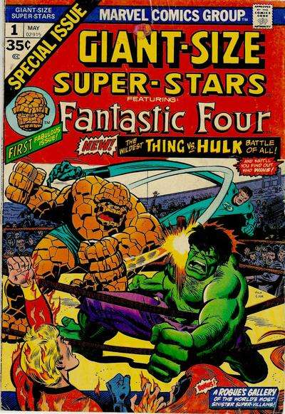 Giant-Size Super-Stars #1 comic books for sale