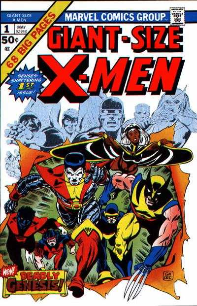 Giant-Size X-Men #1 Comic Books - Covers, Scans, Photos  in Giant-Size X-Men Comic Books - Covers, Scans, Gallery
