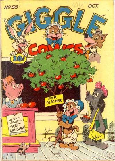 Giggle Comics #58 comic books for sale