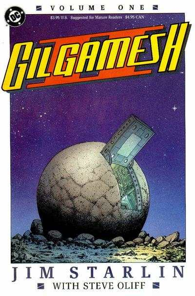 Gil Gamesh II #1 comic books - cover scans photos Gil Gamesh II #1 comic books - covers, picture gallery