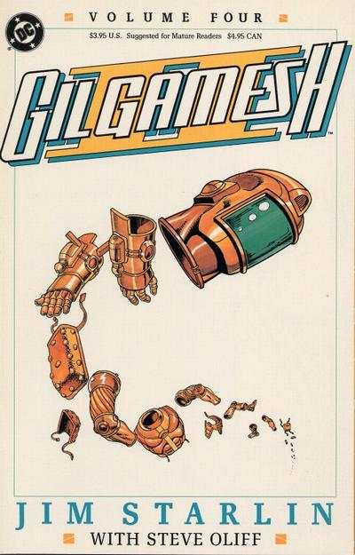 Gil Gamesh II #4 comic books - cover scans photos Gil Gamesh II #4 comic books - covers, picture gallery