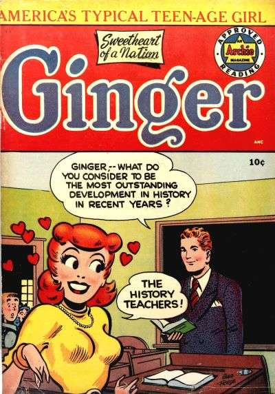 Ginger Comic Books. Ginger Comics.