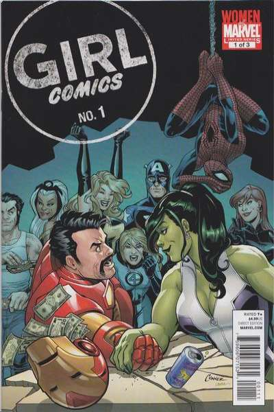 Girl Comics #1 comic books - cover scans photos Girl Comics #1 comic books - covers, picture gallery