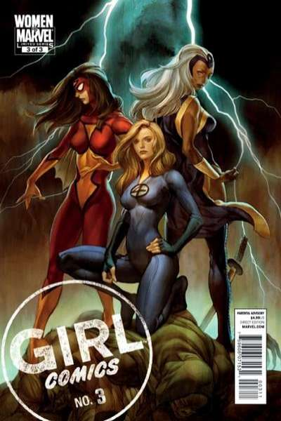 Girl Comics #3 comic books - cover scans photos Girl Comics #3 comic books - covers, picture gallery
