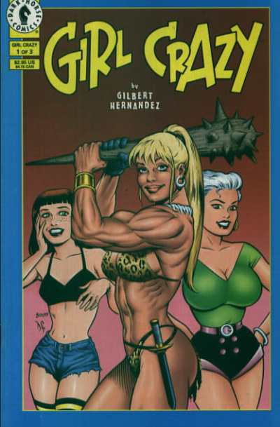 Girl Crazy comic books
