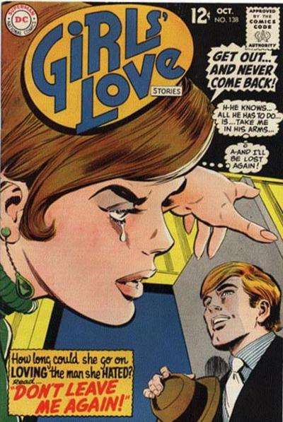 Girls' Love Stories #138 comic books for sale