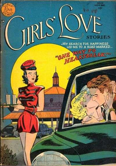 Girls' Love Stories #14 Comic Books - Covers, Scans, Photos  in Girls' Love Stories Comic Books - Covers, Scans, Gallery