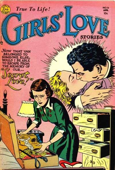 Girls' Love Stories #16 Comic Books - Covers, Scans, Photos  in Girls' Love Stories Comic Books - Covers, Scans, Gallery