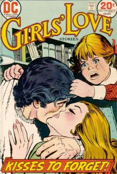 Girls' Love Stories #179 comic books for sale