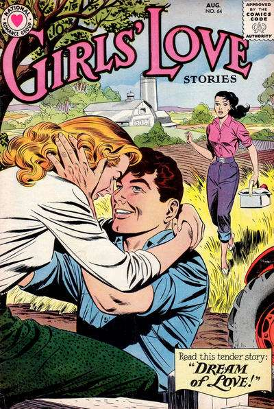 Girls' Love Stories #64 comic books for sale