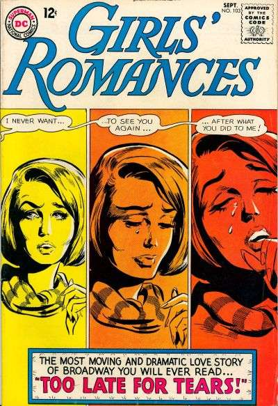 Girls' Romances #103 comic books for sale