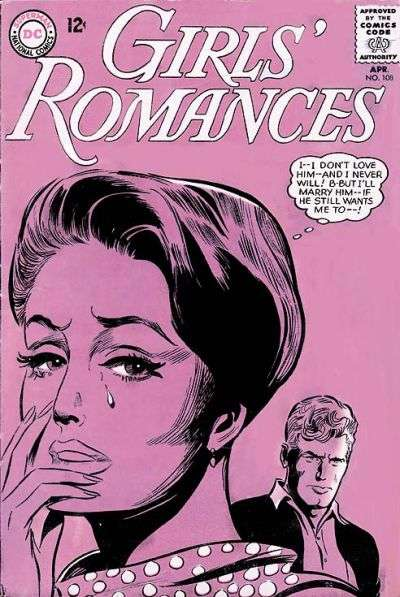 Girls' Romances #108 comic books for sale