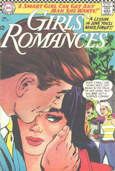 Girls' Romances #121 comic books for sale