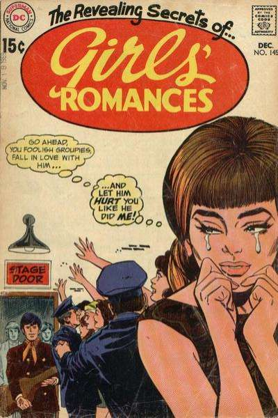Girls' Romances #145 comic books for sale
