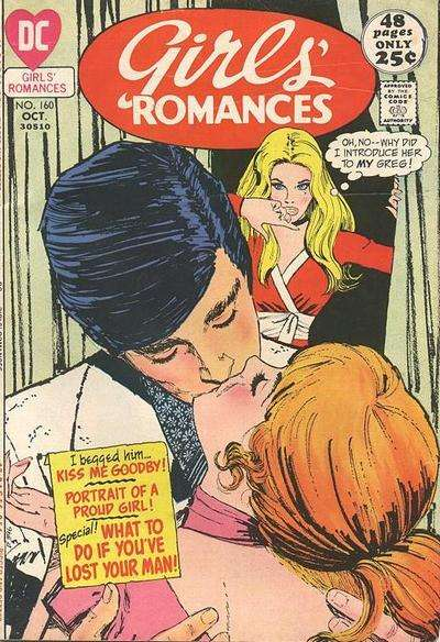 Girls' Romances #160 comic books for sale