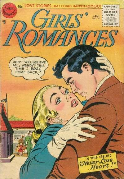 Girls' Romances #36 comic books for sale