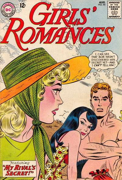 Girls' Romances #94 comic books for sale
