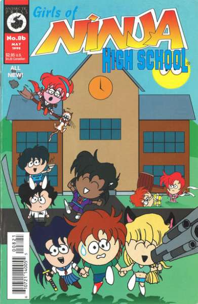 Girls of Ninja High School #8 comic books for sale