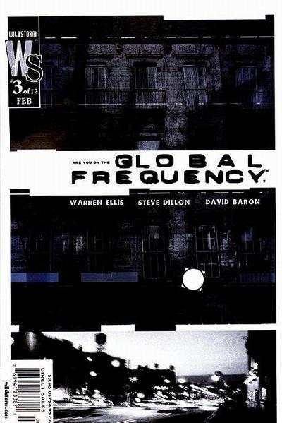 Global Frequency #3 comic books - cover scans photos Global Frequency #3 comic books - covers, picture gallery