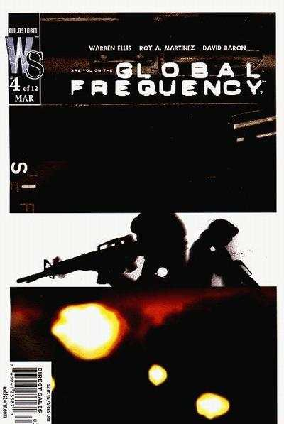 Global Frequency #4 comic books - cover scans photos Global Frequency #4 comic books - covers, picture gallery
