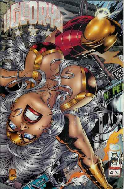 Glory #4 comic books - cover scans photos Glory #4 comic books - covers, picture gallery