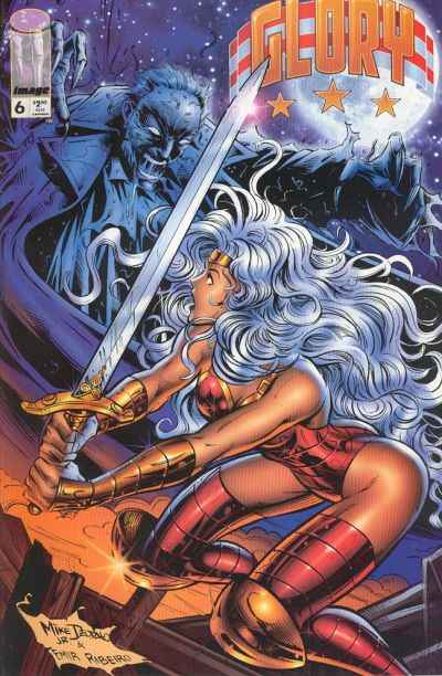 Glory #6 comic books - cover scans photos Glory #6 comic books - covers, picture gallery
