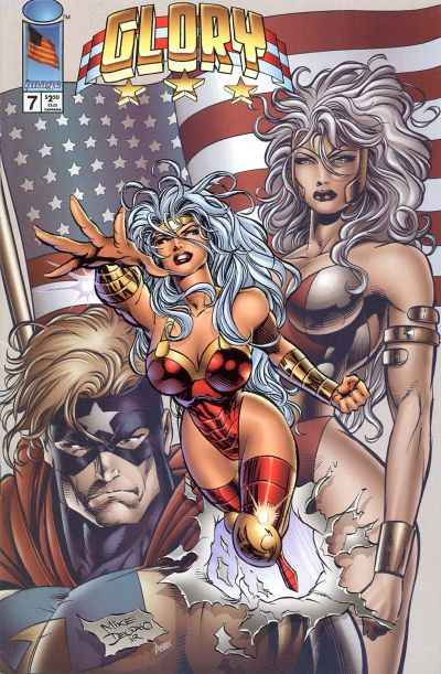 Glory #7 comic books - cover scans photos Glory #7 comic books - covers, picture gallery