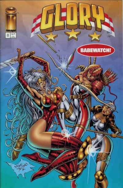 Glory #8 Comic Books - Covers, Scans, Photos  in Glory Comic Books - Covers, Scans, Gallery