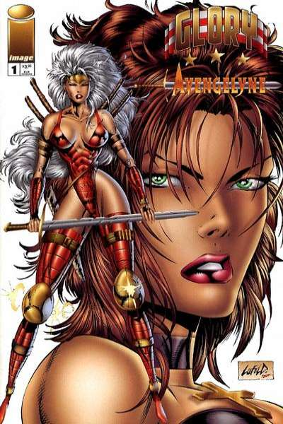 Glory/Avengelyne #1 comic books - cover scans photos Glory/Avengelyne #1 comic books - covers, picture gallery