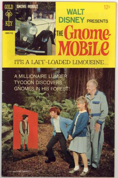 Gnome Mobile #1 comic books - cover scans photos Gnome Mobile #1 comic books - covers, picture gallery