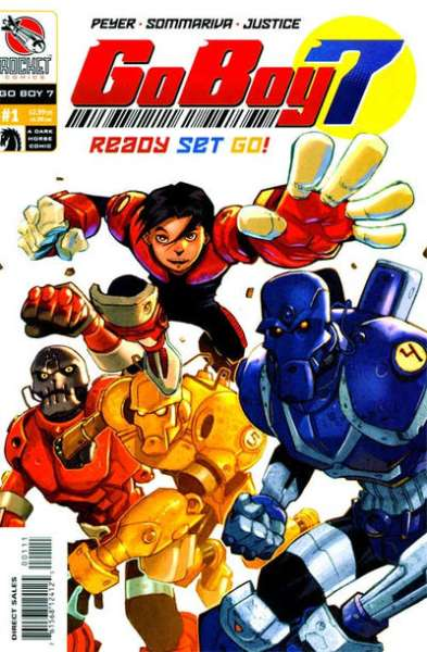 Go Boy 7 comic books