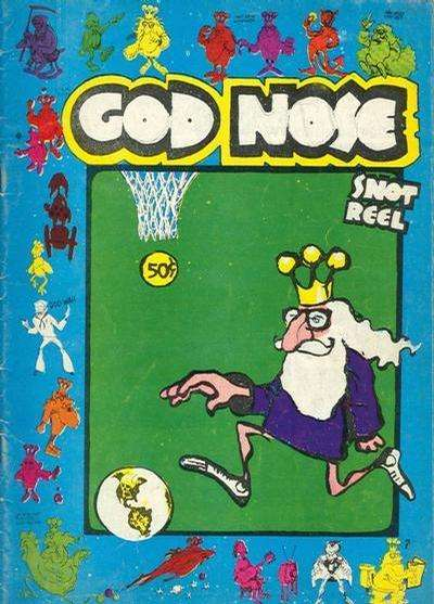 God Nose #1 Comic Books - Covers, Scans, Photos  in God Nose Comic Books - Covers, Scans, Gallery